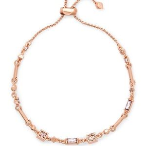 BRAND NEW Kendra Scott Lilo Rose Gold Bracelet